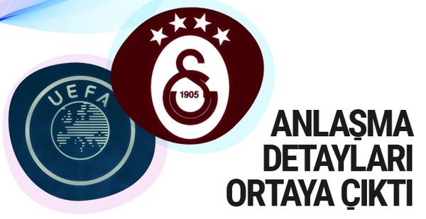 Galatasaray'ın UEFA ile yaptığı anlaşma detayları ortaya çıktı
