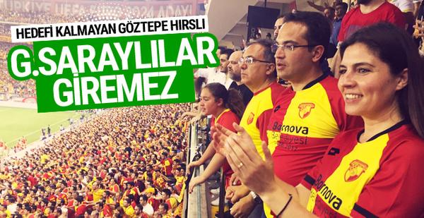 Göztepe Galatasaraylıların bilet almasını önleyecek