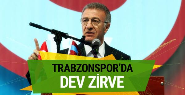 Trabzonspor'da dev zirve