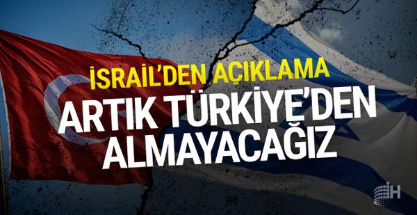 İsrail Türkiye'den tarım ürünü almayı durdurdu