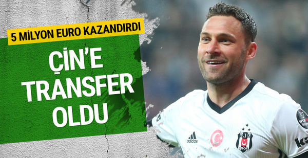 Dusko Tosic Çin'e transfer oldu!