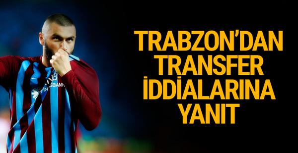 Trabzonspor'dan Burak Yılmaz açıklaması