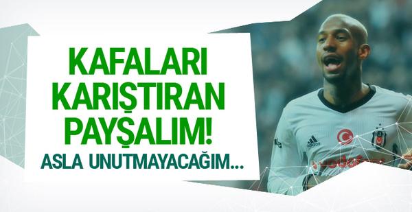 Beşiktaşlı Anderson Talisca'dan olay paylaşım