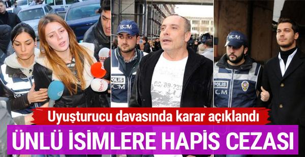 Davada karar açıklandı! Ünlü oyunculara hapis cezası yağdı