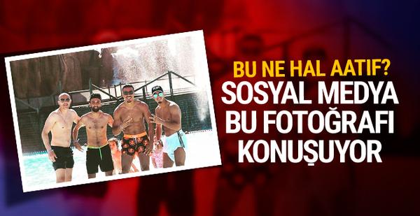 Fenerbahçeli yıldızın göbekli hali şaşkına çevirdi