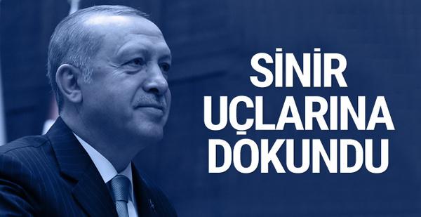 Erdoğan: Verdiğim yanıt Netenyahu'nun sinir uçlarına dokundu