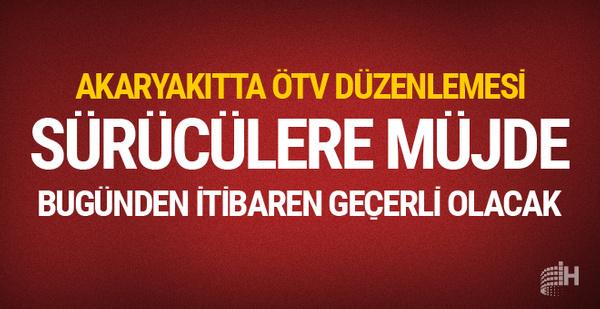 Akaryakıta ÖTV düzenlemesi bugünden sonra fiyat artışları...
