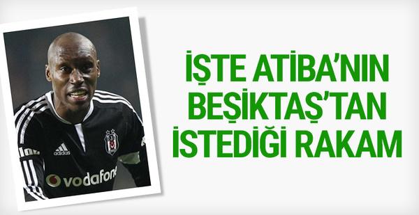 Atiba'nın Beşiktaş'tan istediği rakam!