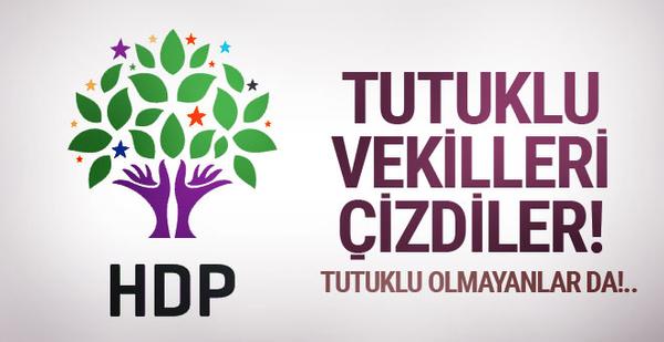 HDP tutuklu vekilleri sildi! İhtimali olanlar bile...