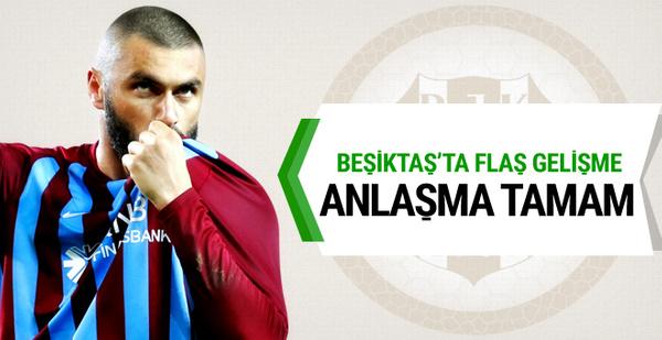 Beşiktaş Burak Yılmaz'la anlaşmaya vardı!