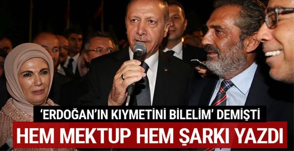 Yavuz Bingöl'den Erdoğan'a mektup: Sana verilen her şey helal olsun