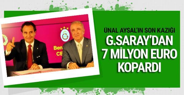 Cesare Prandelli Galatasaray'dan 7 milyon euro kopardı