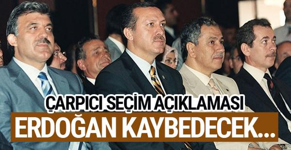 Abdüllatif Şener'den seçim yorumu! Erdoğan kaybedecek