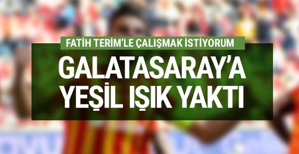 Galatasaray'a yeşil ışık yaktı! Fatih Terim'le...