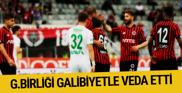 Gençlerbirliği Bursaspor maçı sonucu ve özeti