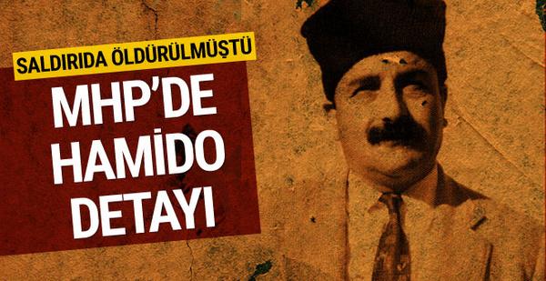 MHP'nin listesinde Hamido detayı!