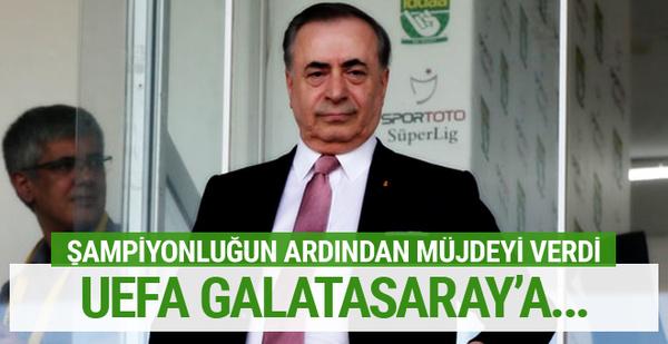 Mustafa Cengiz'den taraftara UEFA müjdesi