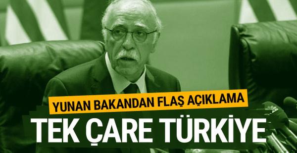 Yunanistan Göç Bakanı'ndan flaş Türkiye açıklaması