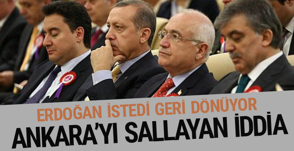 Ali Babacan geri mi dönüyor? Ekonomi için flaş gelişme