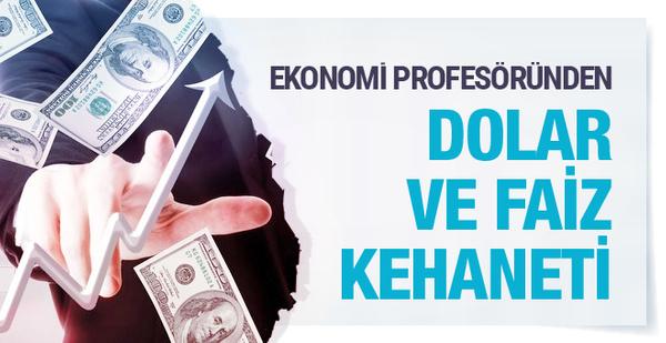 Ekonomist Emre Alkin'den bomba dolar ve faiz kehaneti