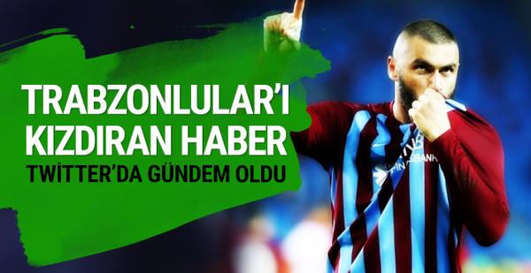 Trabzonspor taraftarından Aspor'a tepki