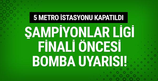 Kiev'de bomba uyarısı! 5 metro istasyonu kapatıldı