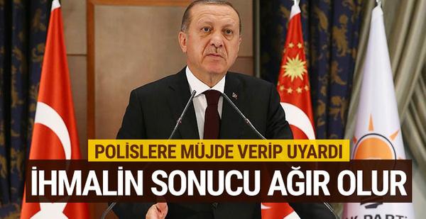 Cumhurbaşkanı Erdoğan Polis Teşkilatı iftarında konuştu