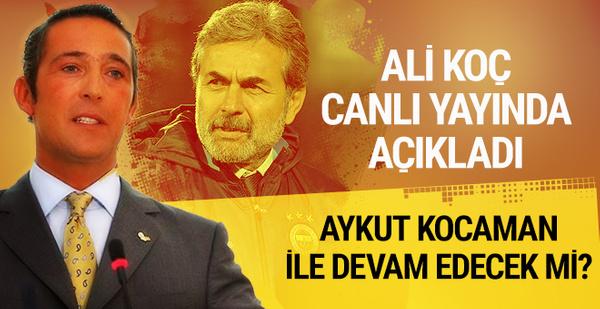 Ali Koç neden başkan adayı olduğunu açıkladı