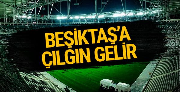Beşiktaş'a kombine satışlarından çılgın gelir