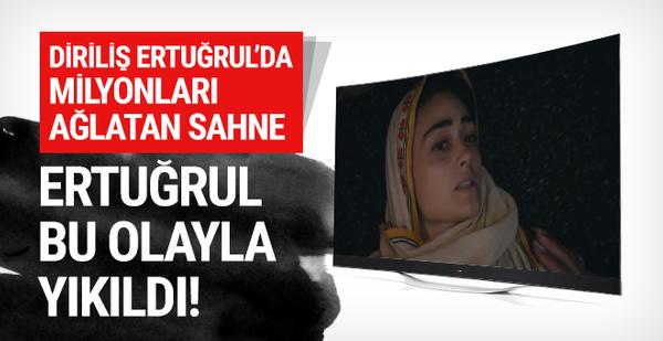Diriliş Ertuğrul'da Halime Hatun'un ölümü izleyiciyi kahretti!