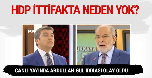 HDP ittifakta neden yok? Karamollaoğlu açıkladı