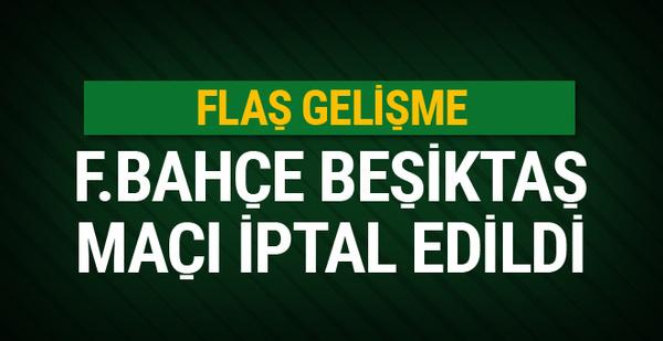 Mete Kalkavan Fenerbahçe - Beşiktaş derbisini iptal etti