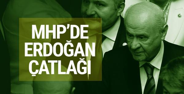 MHP'de 5 vekil Erdoğan'a imza vermedi