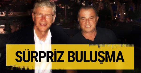 Fatih Terim Arsene Wenger'le bir araya geldi