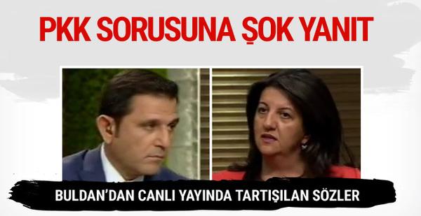 Portakal'ın PKK sorusuna Buldan'dan şok yanıt