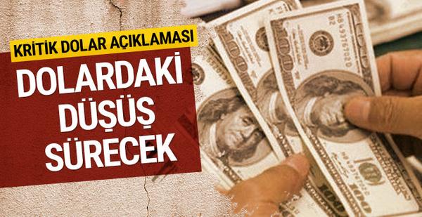 Bakan Sarıeroğlu'ndan dolar açıklaması