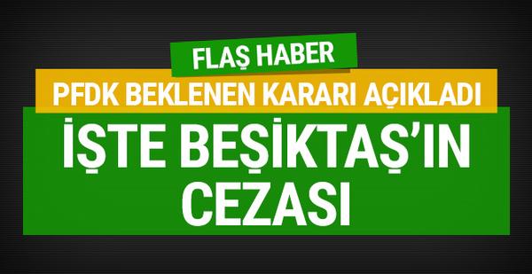 PFDK açıkladı! Beşiktaş hükmen mağlup!