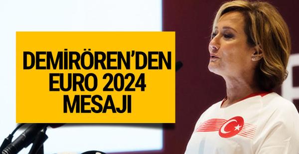 Revna Demirören'den EURO 2024 mesajı