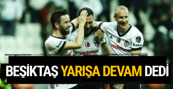 Beşiktaş-Kayserispor maçı golleri ve geniş özeti