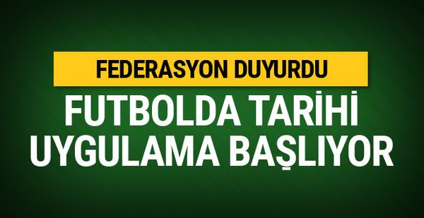 Spor Toto 1. Lig Play-Off maçları öncesinde TFF'den VAR kararı!