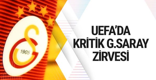Galatasaray'ın UEFA'daki kritik toplantıları başlıyor