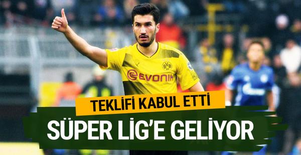 Nuri Şahin'den Galatasaray'a 3+1 yıllık imza