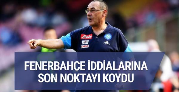 Maurizio Sarri'den Fenerbahçe'ye cevap