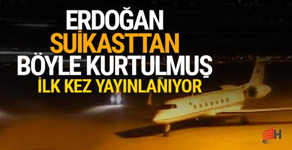 Erdoğan suikasttan böyle kurtulmuş! İlk kez yayınlanıyor