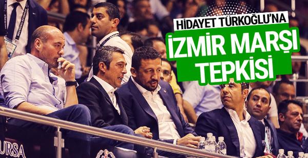 Hidayet Türkoğlu'na İzmir Marşı tepkisi!