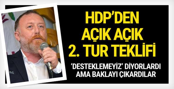 HDP açık açık söyledi: Protokol yapalım