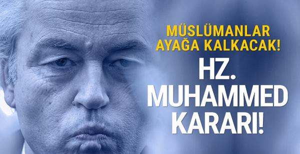 Müslümanlar ayağa kalkacak! Skandal 'Hz. Muhammed' kararı!