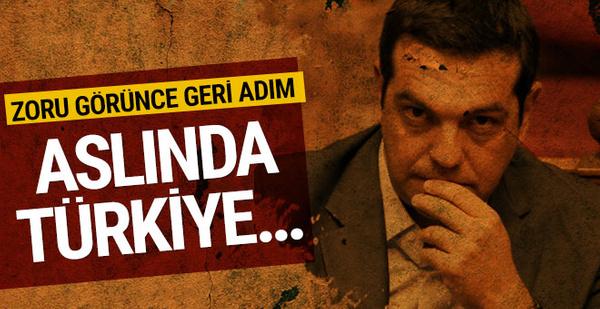 Türkiye anlaşmayı durdurunca Çipras: Türkiye saygıyı hak ediyor!