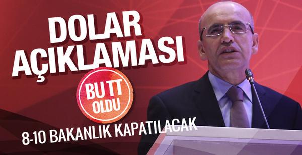 Mehmet Şimşek'in bu dolar açıklaması twitterda TT oldu