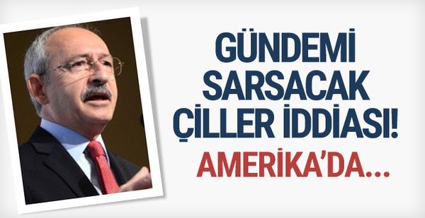 KıIıçdaroğlu'ndan Çiller için bomba iddia! ABD'de...